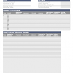 Amortization Schedule Template – 10 Free Templates