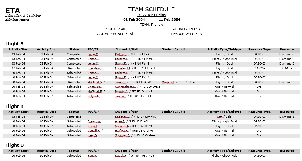 Link For This Schedule Template